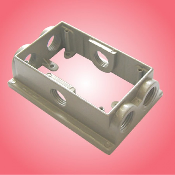 Extension Pigtail With Receptacle Box : Arexf gang extension box quot deep outlet